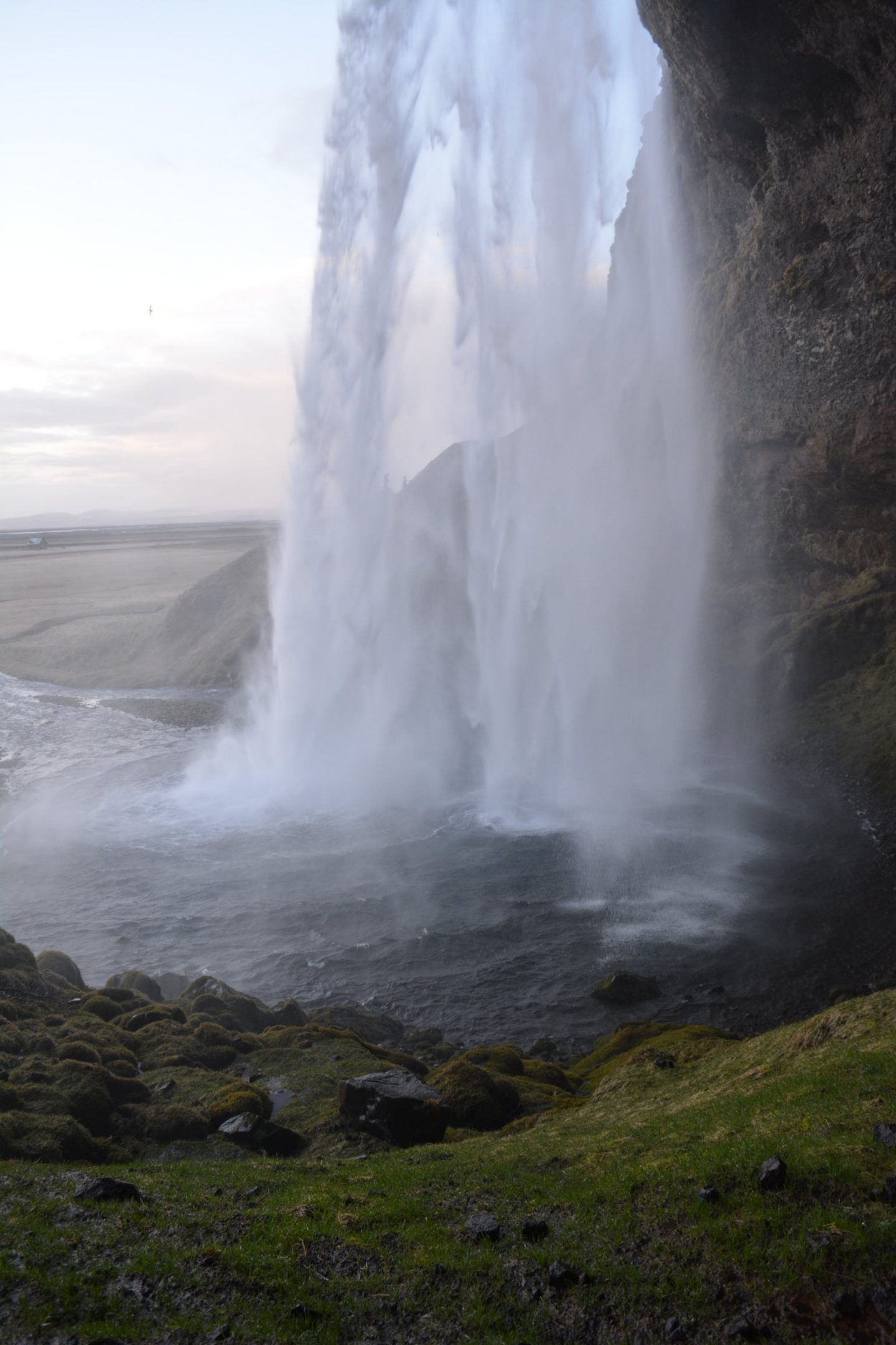 Iceland Honeymoon Destinations Behing Seljalandsfoss Waterfall