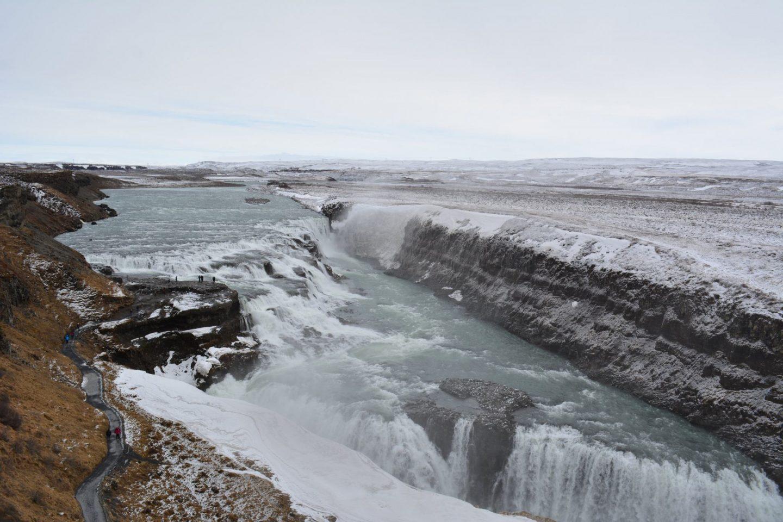 Iceland Honeymoon Gullfoss on the Golden Circle Tour