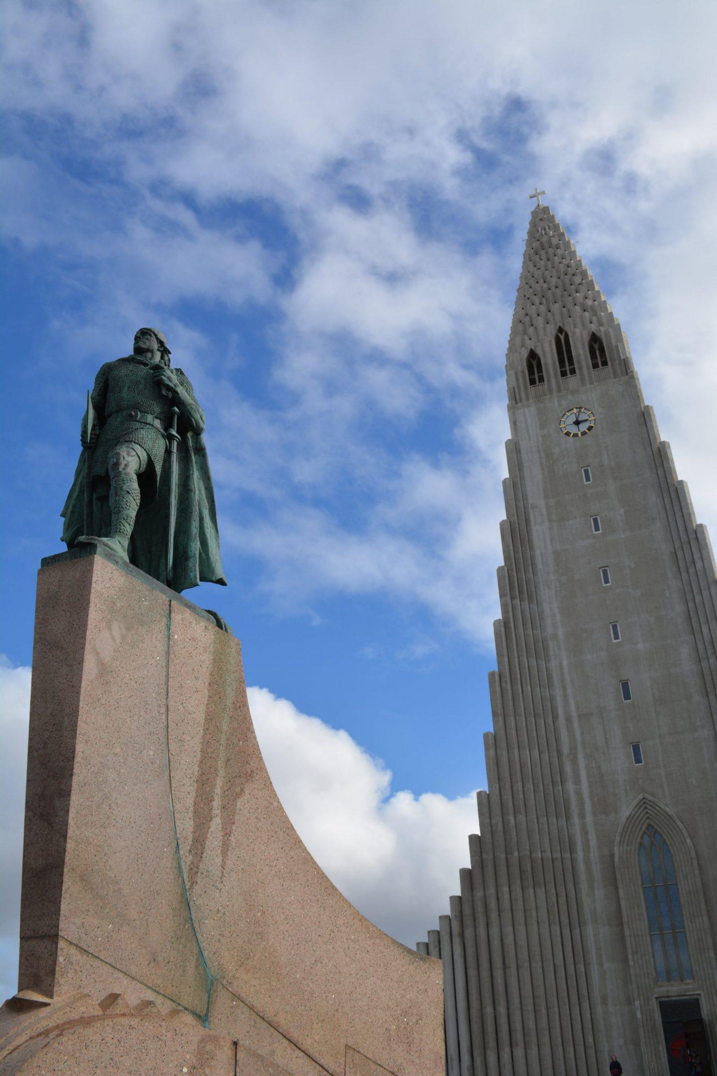 Iceland Honeymoon Hallgrimmskirkja