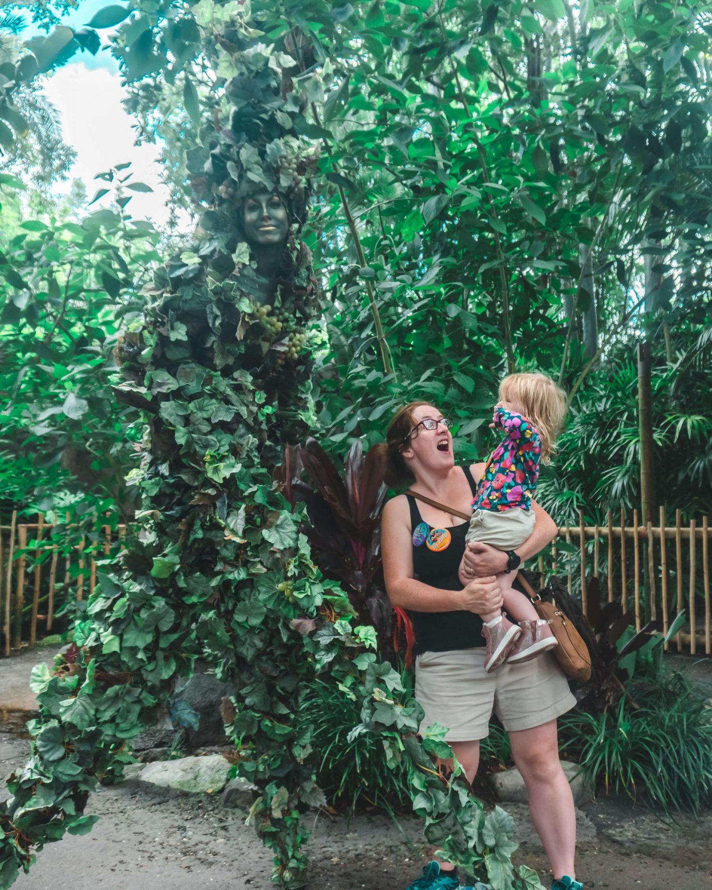animal kingdom di'vine walking tree